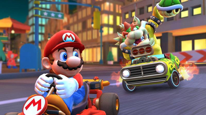 Nintendo revela nova beta multijogador para Mario Kart Tour