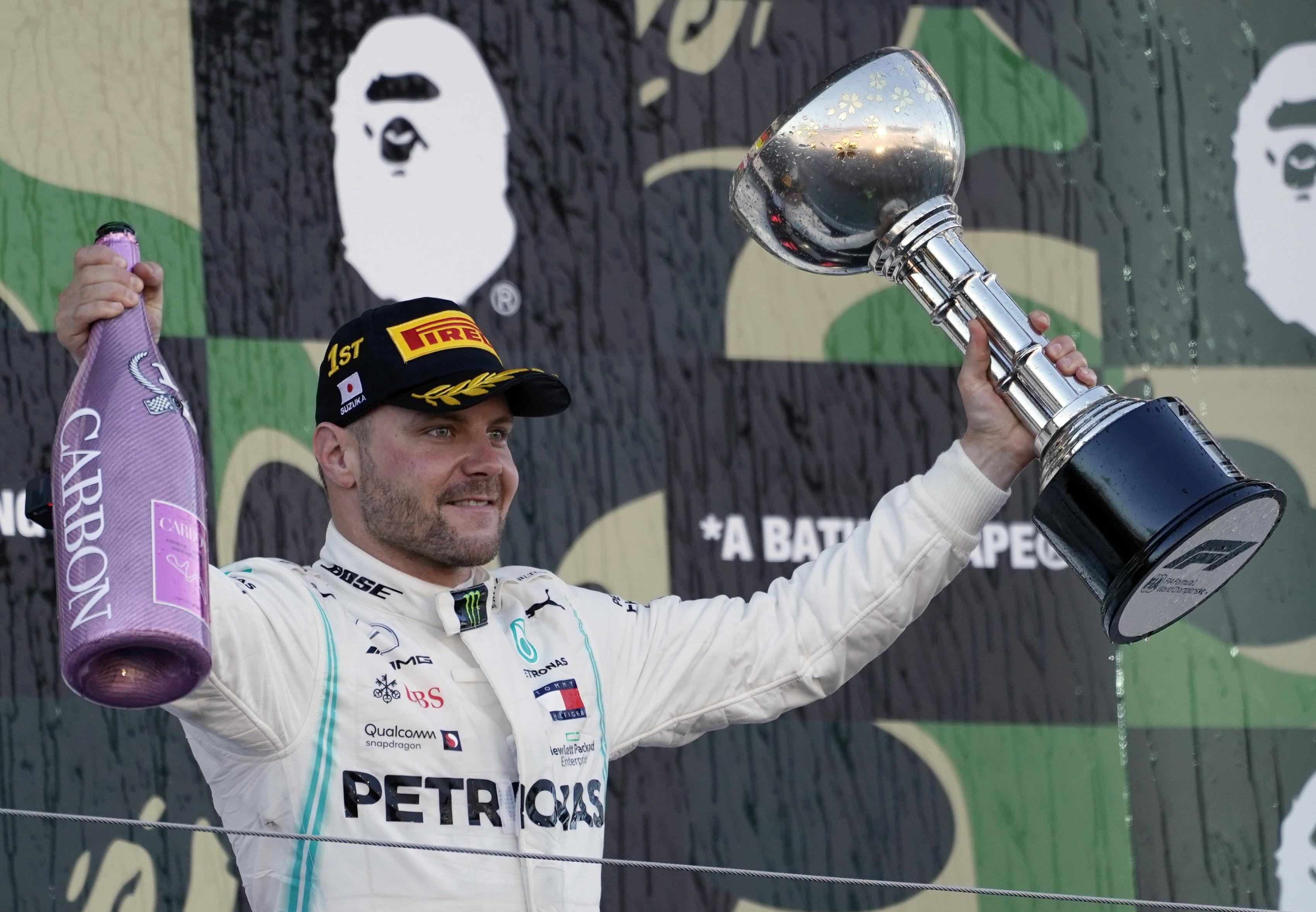 Mercedes campeã com duplo pódio no GP do Japão