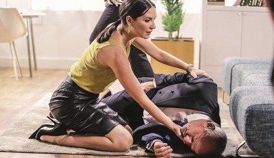 Esta semana em 'Alma e Coração', Júlia tenta matar Fernando