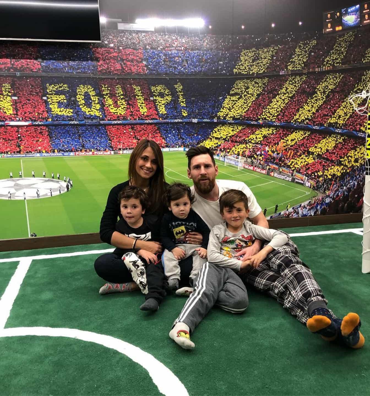 Messi recorda início de relação com Antonella Roccuzzo com foto inédita