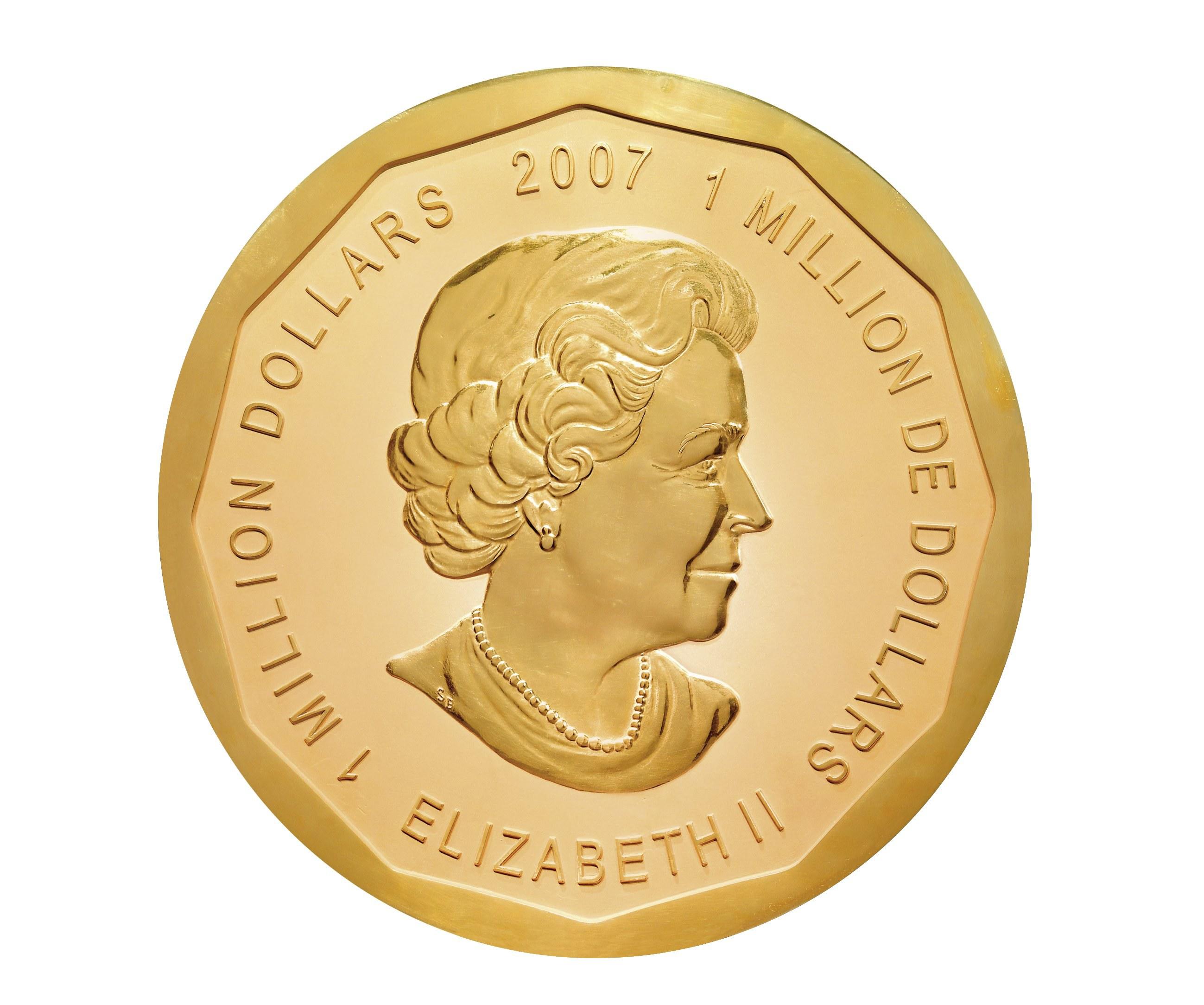 A maior moeda de ouro do mundo foi roubada