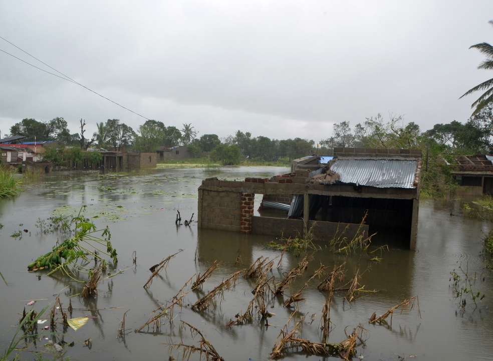 Frio e fome, os relatos de quem sobreviveu ao ciclone Idai em cima de árvores