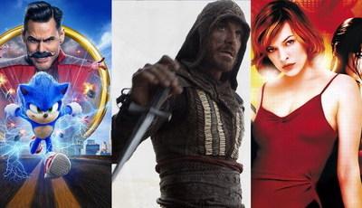 Sabia que estes filmes se baseiam em videojogos?