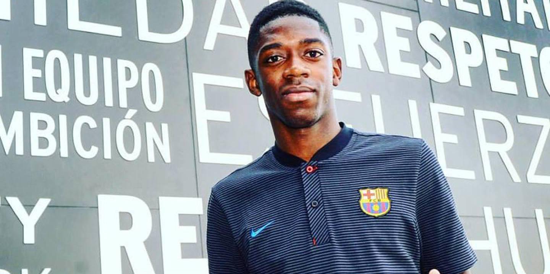 Barcelona confirma que Dembelé já foi operado com sucesso