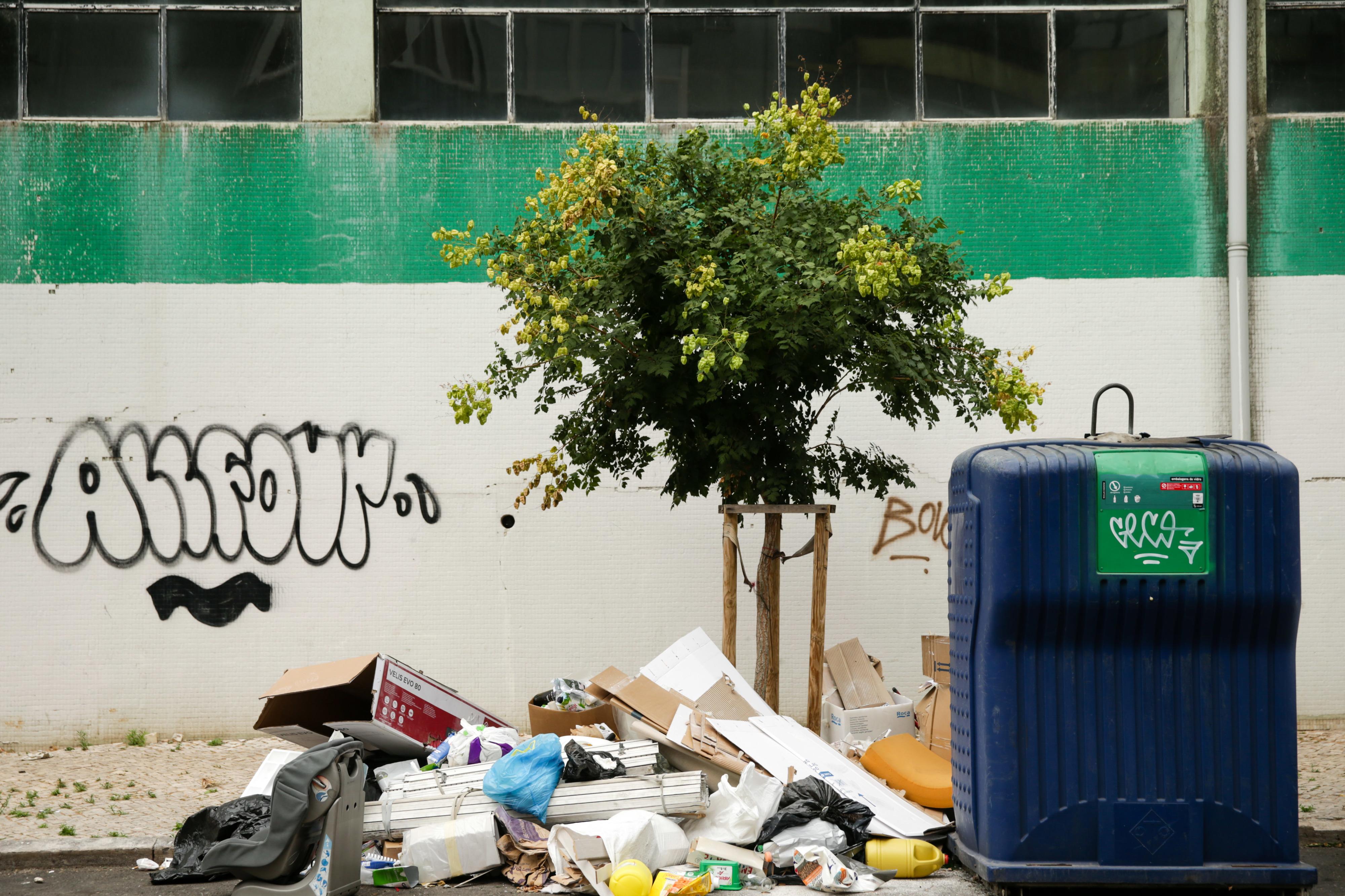 Câmara de Lisboa admite atrasos no fornecimento de contentores de lixo