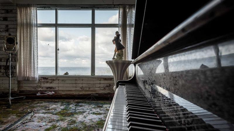 Maior hotel do Japão está abandonado desde 2006. Lá dentro, ainda há televisões, móveis e até pianos