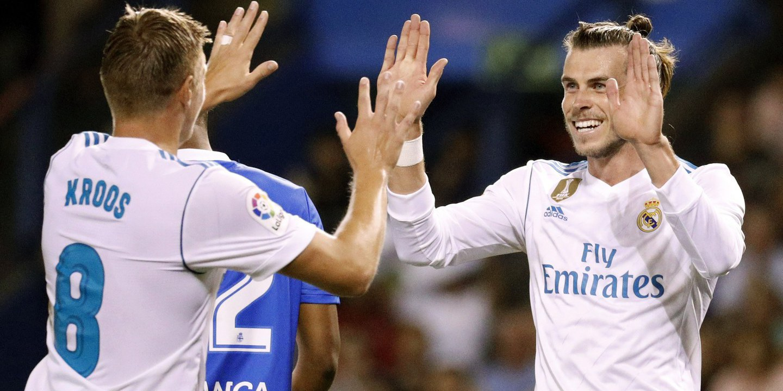 Real Madrid, sem Ronaldo, entra a vencer no campeonato