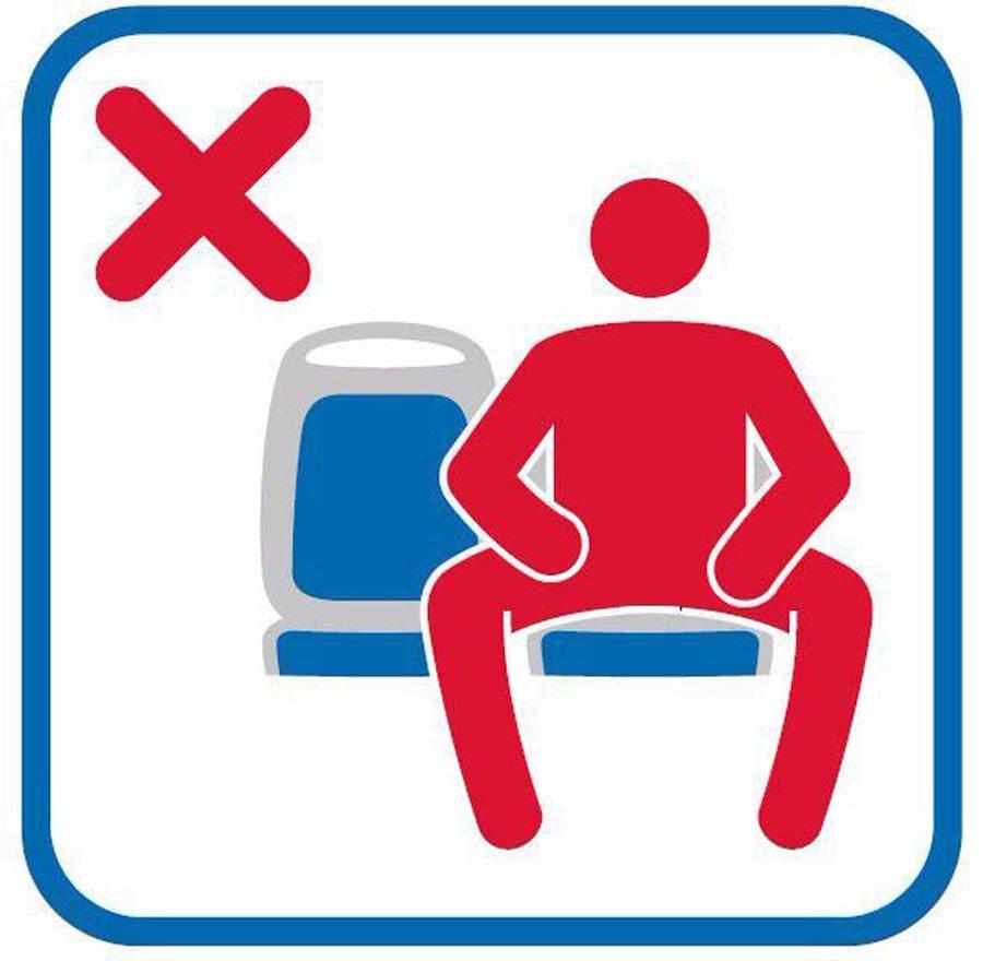 Madrid faz campanha contra homens sentados de pernas abertas nos transportes públicos