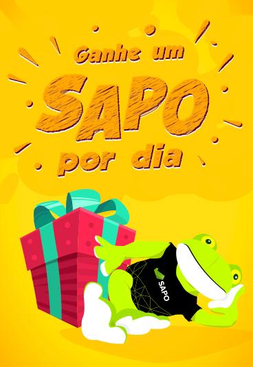 Participe e habilite-se a ganhar um peluche SAPO!