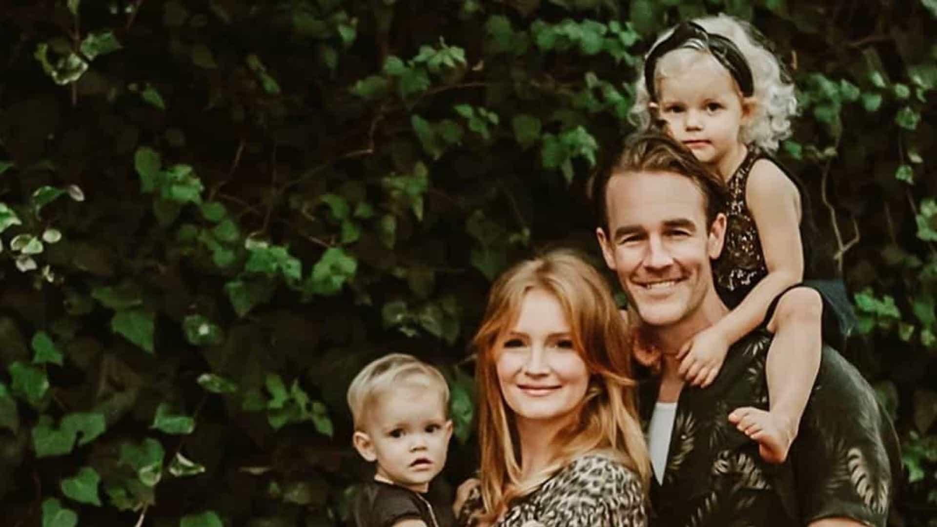 Mulher de James Van Der Beek sofre aborto espontâneo