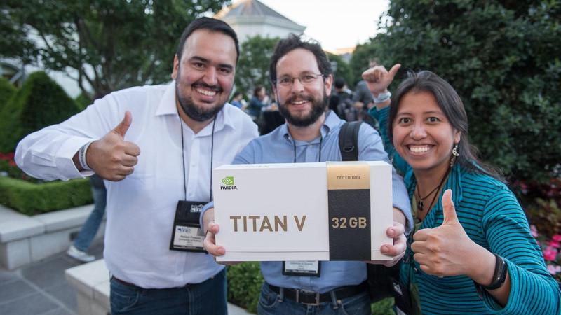 Gráfica Nvidia Titan V ganha memória e processamento em nova edição especial