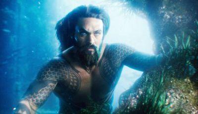 """Cartaz """"Aquaman"""": Jason Momoa é o rei dos oceanos... e das paródias"""