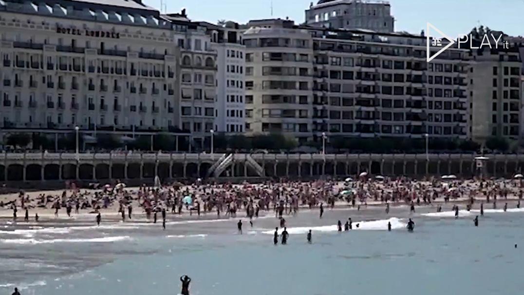 Temperatura da água do mar atinge os 27 graus em Espanha (e vai subir mais)