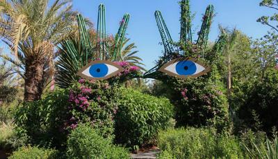 O mundo mágico do Anima Garden em Marraquexe