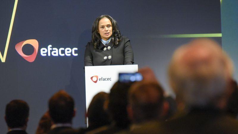 Isabel dos Santos vai sair da Efacec em breve, diz autarca de Matosinhos