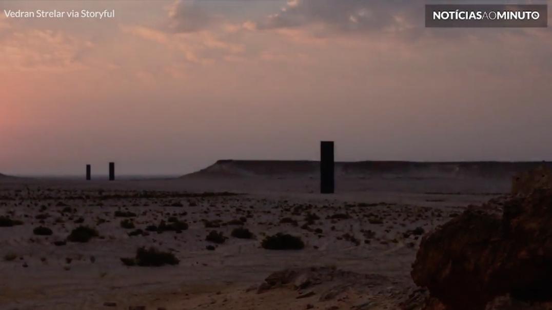 O deserto no Qatar filmado num fascinante time-lapse