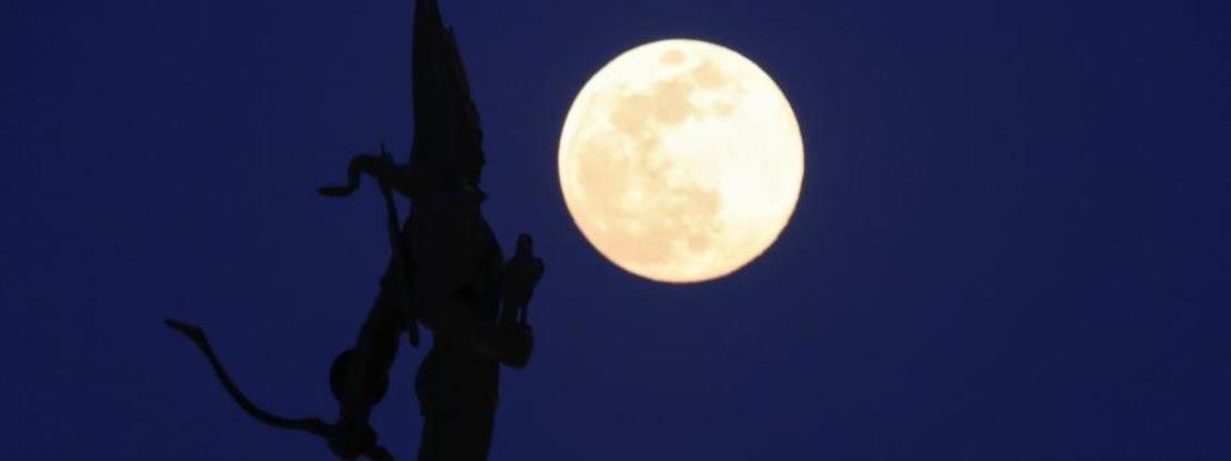 Está a chegar a segunda Super Lua Cheia do ano e é a maior prevista para 2020