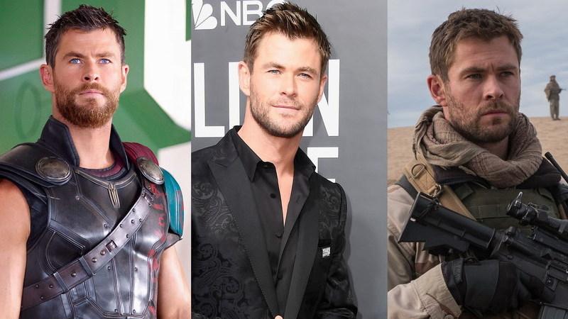"""De """"Thor"""" a um dos """"12 Indomáveis"""": Os filmes onde já vimos o """"rapaz"""" Chris Hemsworth"""
