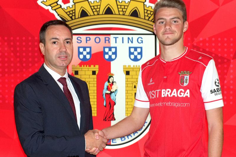 Leandro renova pelo SC Braga até 2021