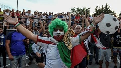 Iranianos 'munidos' de vuvuzelas perturbam descanso da Seleção portuguesa