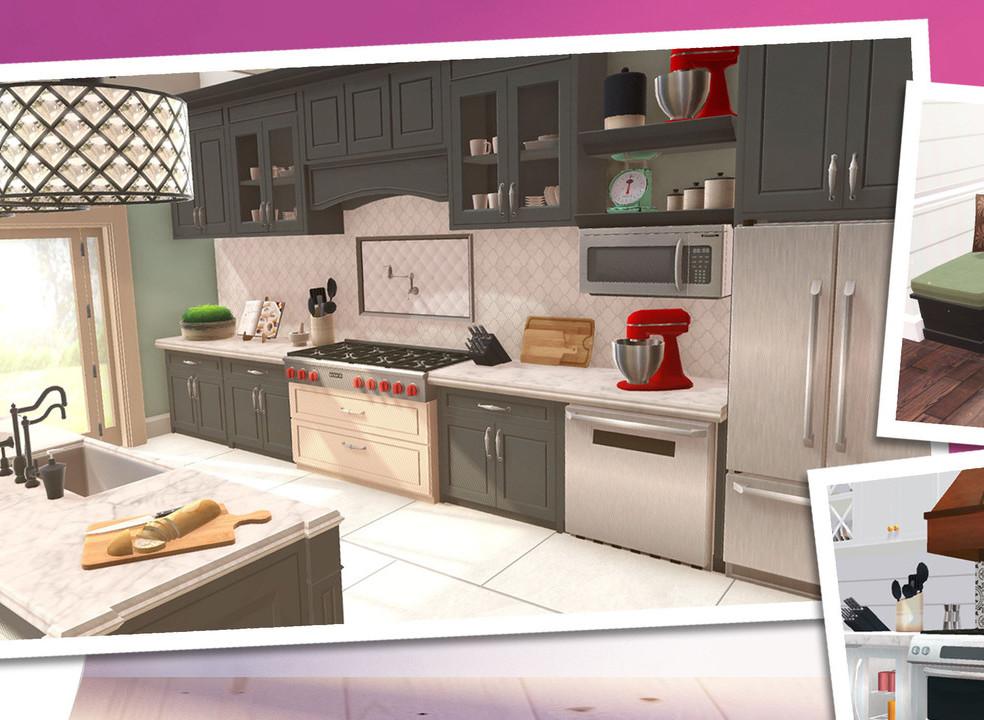 """""""Querida, mudei a casa!"""" Transforme o estilo dos lares em videojogo para smartphones"""