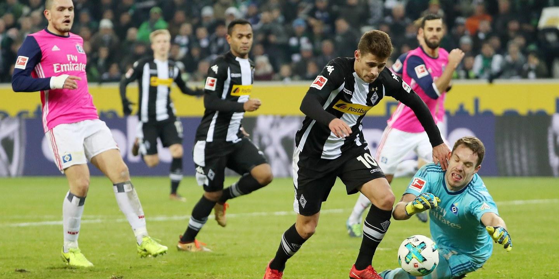 Borussia Moenchengladbach vence Hamburgo e já é 4.º na 'Bundesliga'