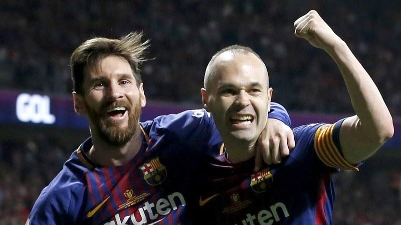 FC Barcelona conquista Taça do Rei ao golear Sevilha por 5-0