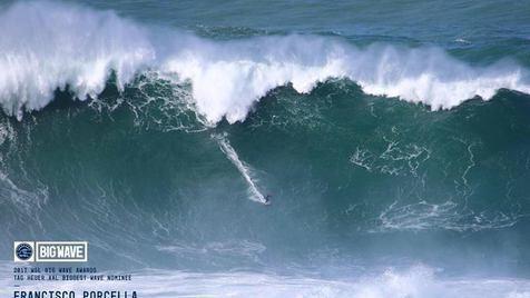 Maior onda do mundo é outra vez da Nazaré
