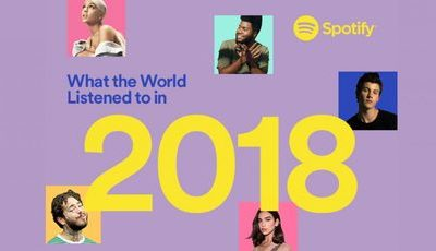 Que artistas ouviu em 2018? Spotify revela tops do ano