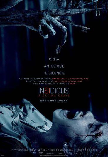 """""""Insidious: A Última Chave"""": Ganhe convites para as antestreias"""