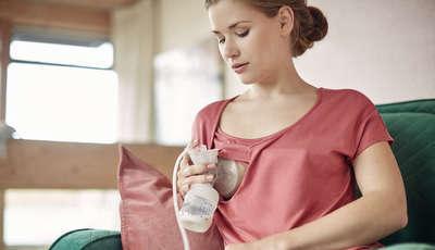 Tire todas as suas dúvidas sobre a extração de leite materno