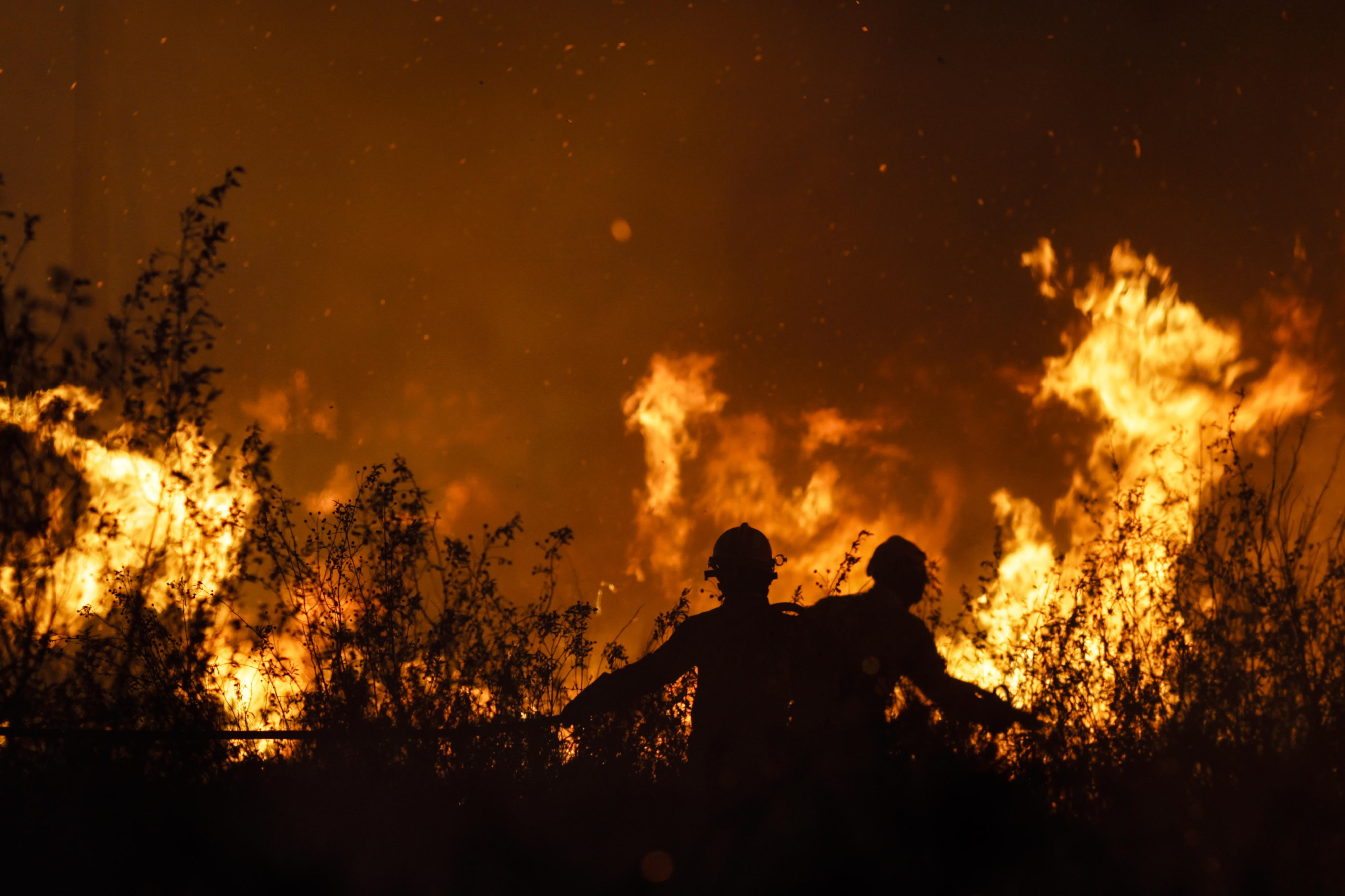 """""""Estamos cercados pelo fogo"""". Viseu ativa plano de emergência distrital por causa das chamas em Resende"""