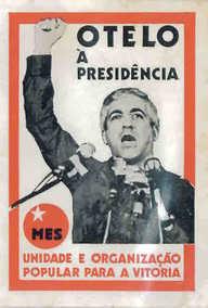 Otelo à presidência - cartaz de campanha de 1976