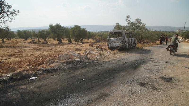 Pelo menos 20 civis mortos, incluindo crianças, em ataques a última zona rebelde na Síria