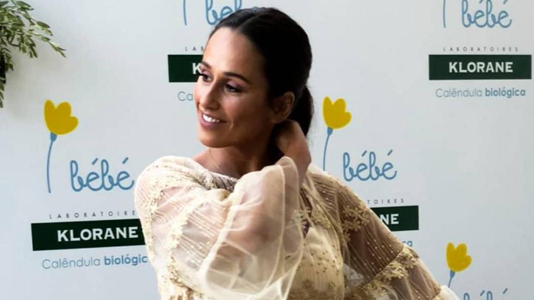 O novo visual de grávida de Rita Pereira