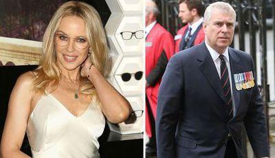 Kylie Minogue e príncipe Andrew vivem romance secreto, diz revista