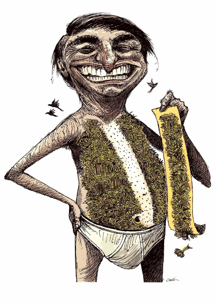 De Boris Johnson A Bolsonaro Estas Sao As 9 Melhores Imagens Satiricas Do World Press Cartoon Internacional Magg