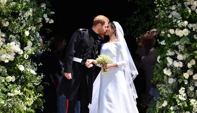 Harry e Meghan: O casamento real em imagens