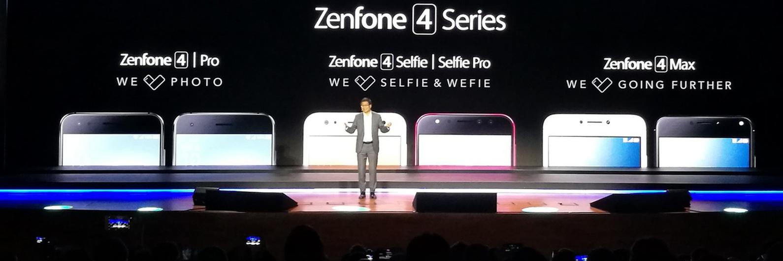 A fotografia é quem mais ordena com os novos Asus ZenFone 4