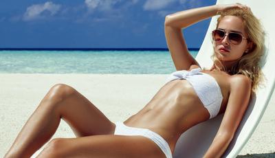 Bronzeado seguro. 10 regras que mantêm a pele jovem e saudável
