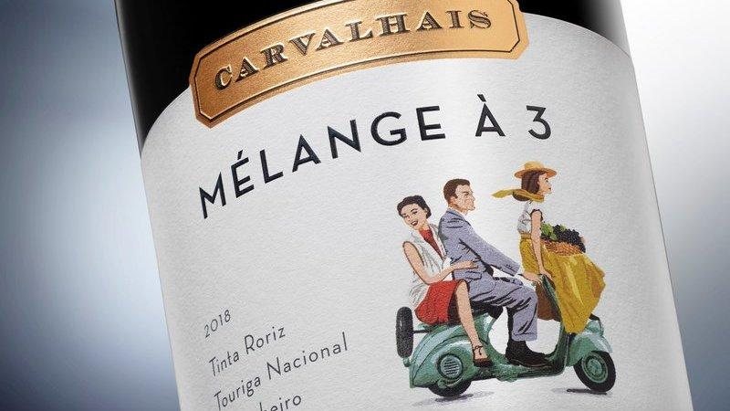 Três foi a conta que Deus fez e é também nesse número que apostam os produtores de um novo vinho