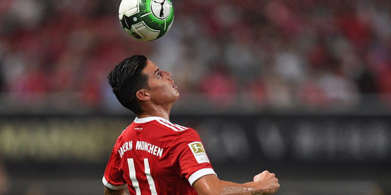 James Rodríguez e Rudy 'picaram-se' no treino do Bayern Munique e Heynckes teve de intervir