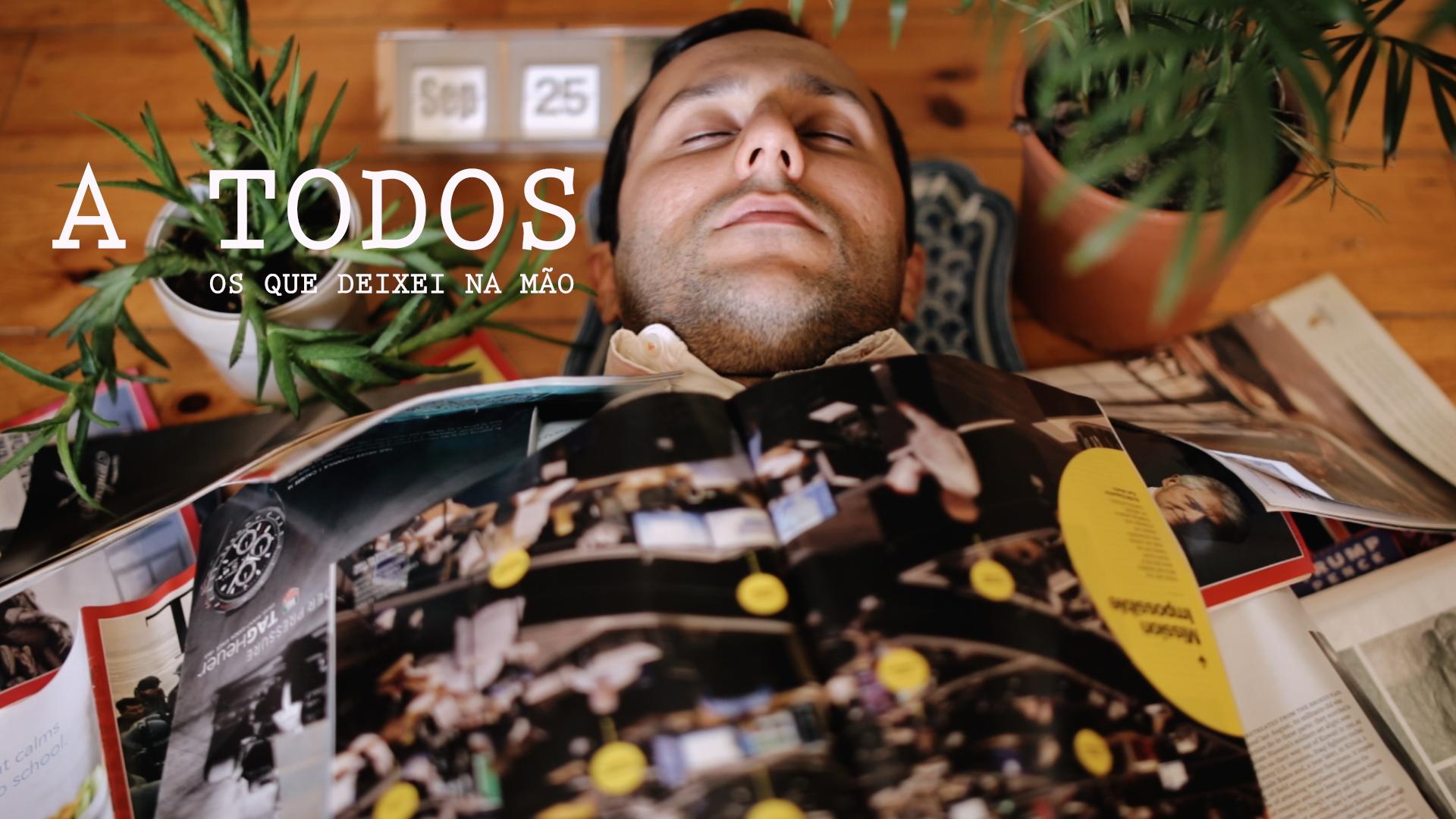"""João Granola estreia videoclip de """"A todos (os que deixei na mão)"""" em exclusivo"""