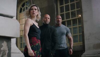 """Nova dupla e família contra o Super-Homem negro: o trailer explosivo de """"Velocidade Furiosa: Hobbs & Shaw"""""""