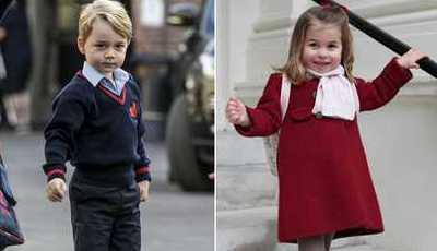 O estilo sublime e requintado do príncipe George e da princesa Charlotte