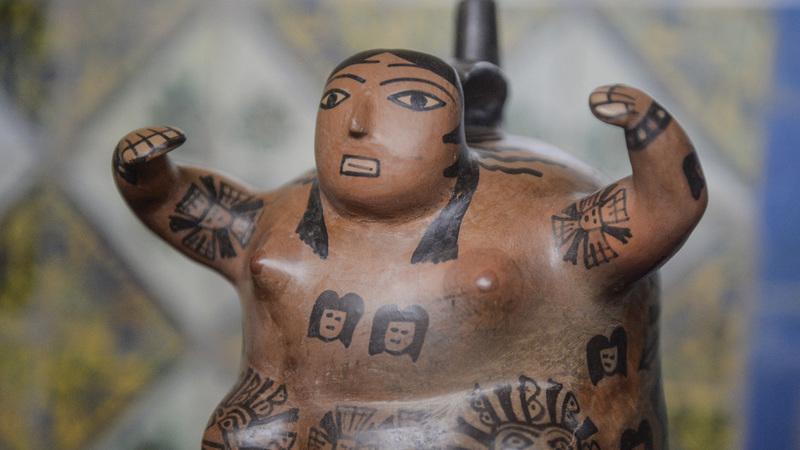 Peru recupera quase 1.800 objetos pré-hispânicos e coloniais