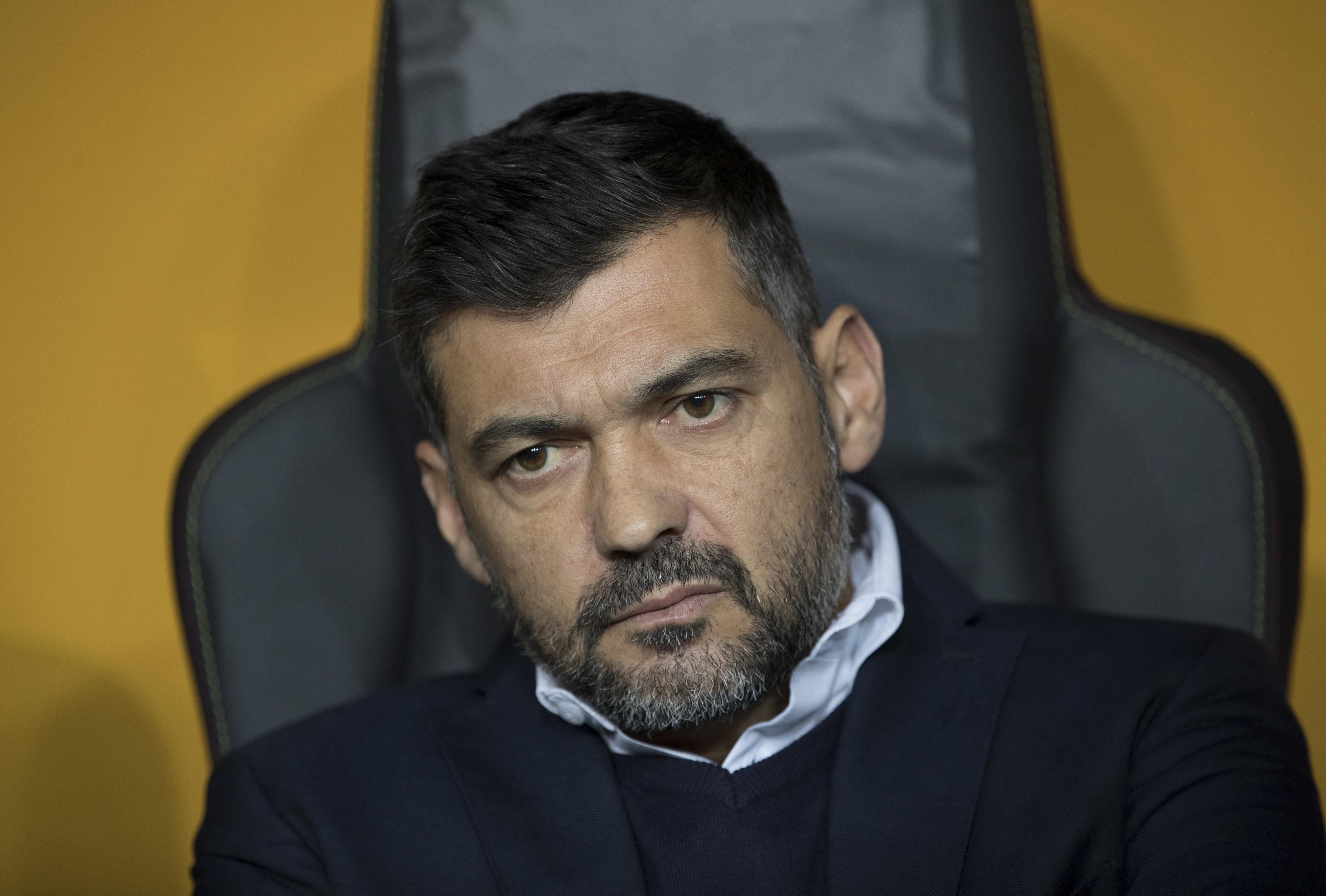 """Sérgio Conceição: """"Nas competições internas, ninguém está acima de nós"""""""
