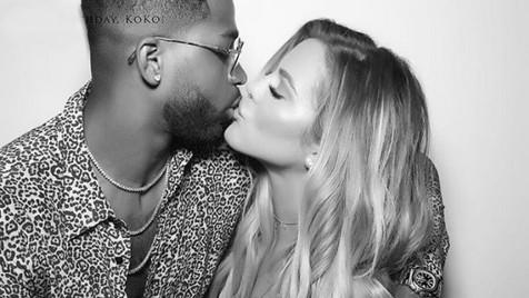 Namorado de Khloé Kardashian filmado com mulheres à saída de discoteca