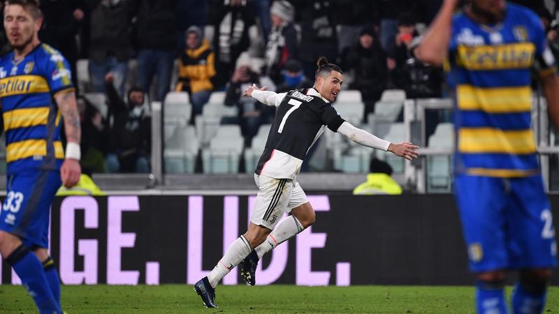Cristiano Ronaldo não consegue parar de marcar
