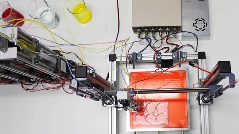 Espanhóis criam impressora para fabricar pele humana